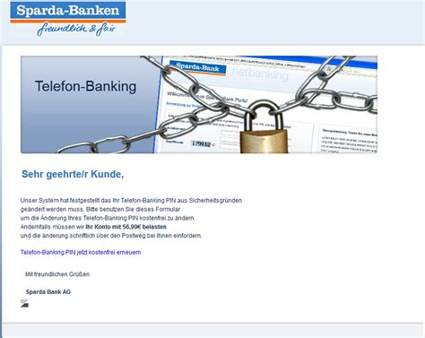 sparda bank oldenburg telefon phishing mail alerts juli 2015