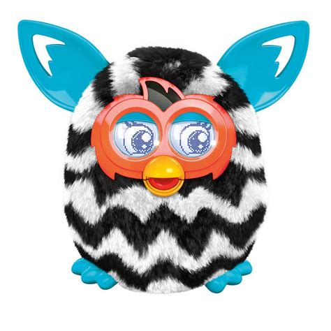 Amazon.com: Furby Boom Figure (Zigzag Stripes): Toys & Games