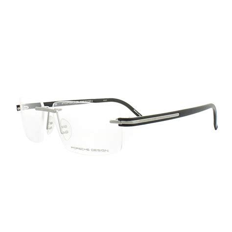 Porsche Design Glasses by Porsche Design Glasses Frames P8153 C Grey Matt Black