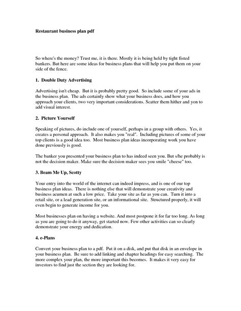 free business plan template pdf best photos of sle business plan pdf sle business