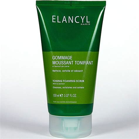 gel elancyl elancyl gommage gel exfoliante tonificante x 150ml
