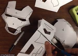 How To Make Iron Gloves Out Of Paper - creates an iron costume to help premature