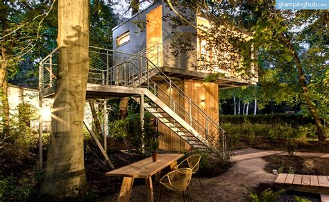 luxury tree houses tree house cing in berlin