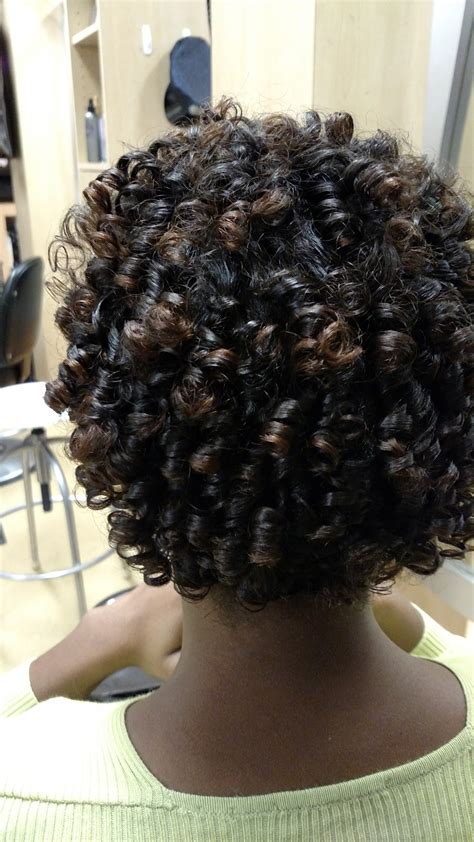 wet set relaxed hair phenomenalhaircare white perm rod wet set on relaxed hair