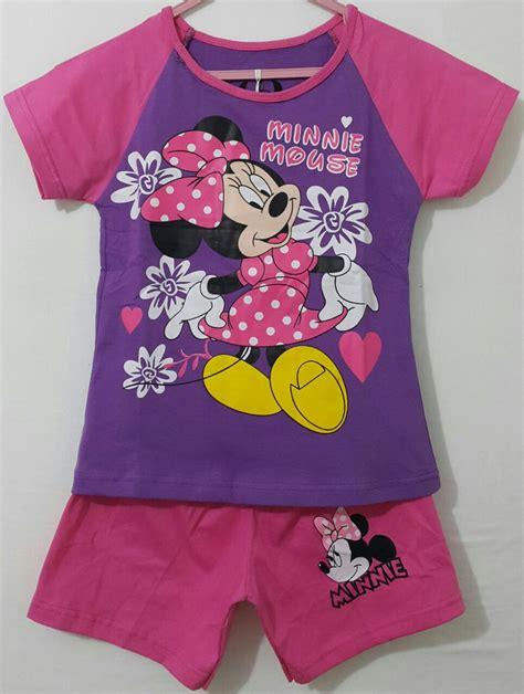 Dress Ungu Flower setelan minnie mouse flower ungu 1 6 disney grosir