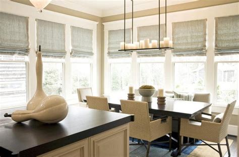 modern kitchen window blinds window treatments design ideas