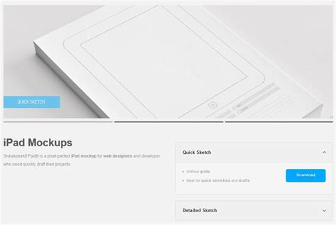 pad template 20 free printable sketching and wireframing templates