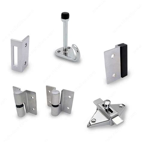 hardware surface hinge kit for inswing door richelieu
