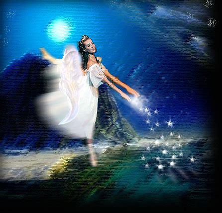imagenes de hadas alegres imagenes de angeles angel de las estrellas en el mar