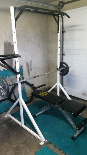 ch olympic weight bench with squat rack squat rack with attachments olympic weights and bench for