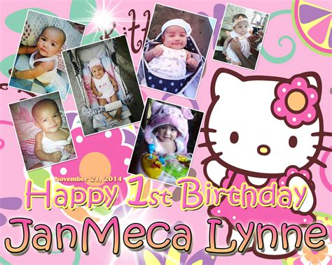 hello kitty themes for tarpaulin janmeca 1st birthday hello kitty cebu balloons and