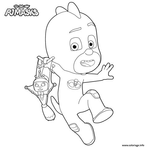 Coloriage Pj Mask Coloring Pictures Gluglu Dessin