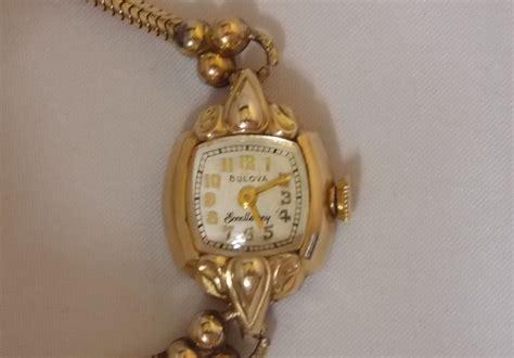 vintage excellency bulova 10k gold filled 21