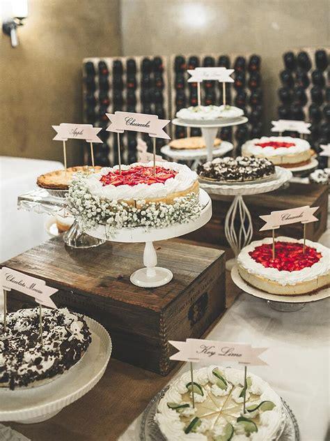creative wedding dessert buffet ideas