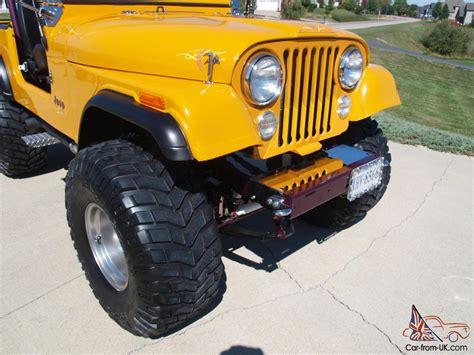 jeep cj7 parts 1980 jeep cj7 custom chevy engine lost of new parts