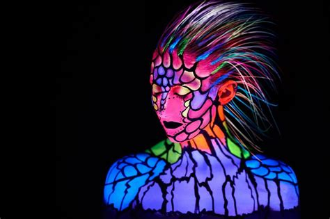 what is black light makeup neon on pinterest black light makeup black