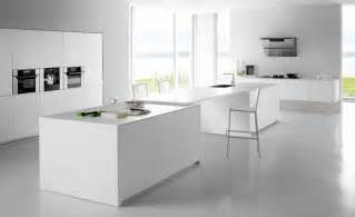 White Kitchen Cabinets With White Countertops by White Kitchens