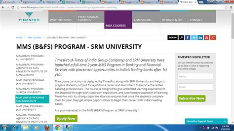 Srm Mba Placements 2016 by Suga Educational Services Suga Educational Services And