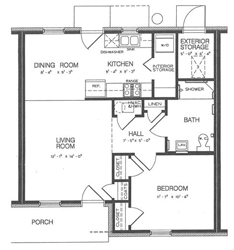 autocad for layout design one bedroom apartment blueprints architect cad layout