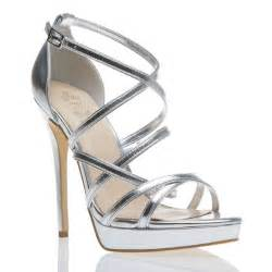 best 20 silver strappy heels ideas on
