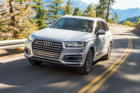 Audi Q7 Motor by 2017 Audi Q7 First Test Review Motor Trend
