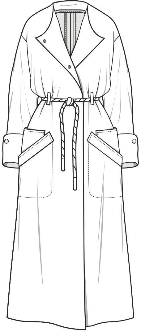 Wgsn Technical Drawing