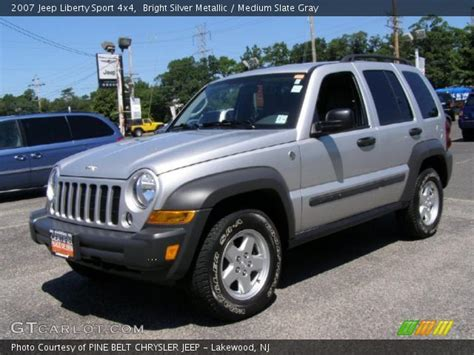 2007 Jeep Liberty Silver 200 Interior And Exterior Images