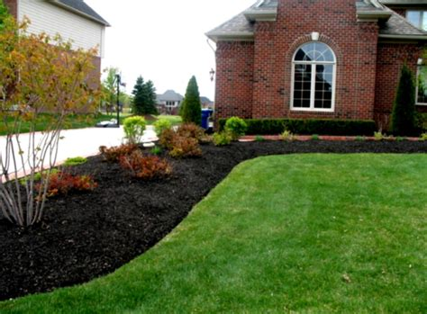 high maintenance landscape contractors black lava rock