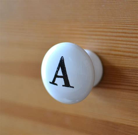 Number Drawer Knobs by Painted Drawer Knobs Stothard