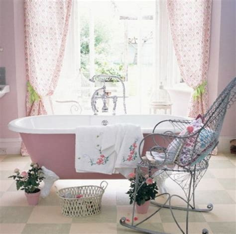 Pink In Bathtub by Pretty Pink Bathroom Designs