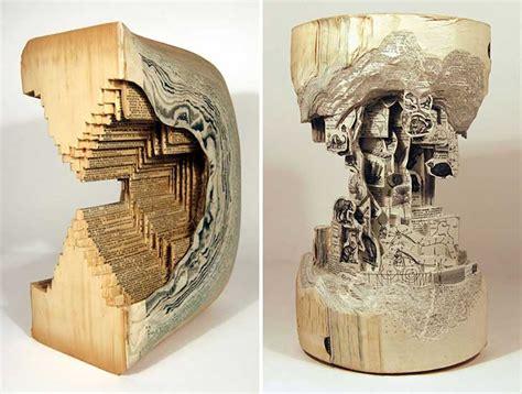 libro the sculptor libros antiguos transformados en impresionantes esculturas upsocl