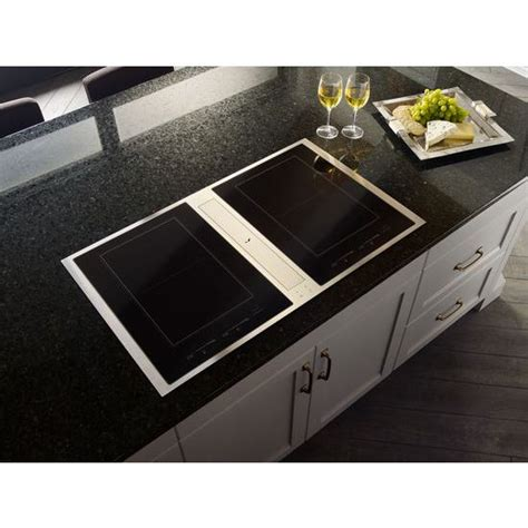 36 inch induction cooktop with downdraft jid4436es 36 induction downdraft cooktop