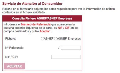 como puedo salir del asnef c 243 mo saber si estoy en asnef y c 243 mo solucionarlo credy