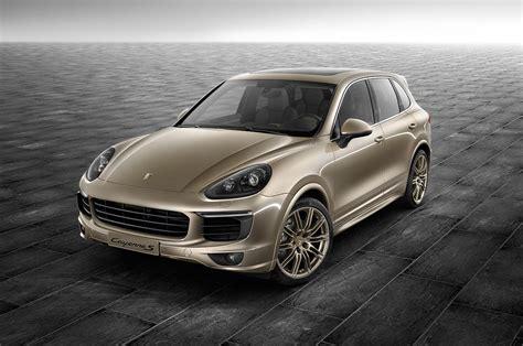 Porsche Exclusive Unveils Cayenne S Palladium Metallic