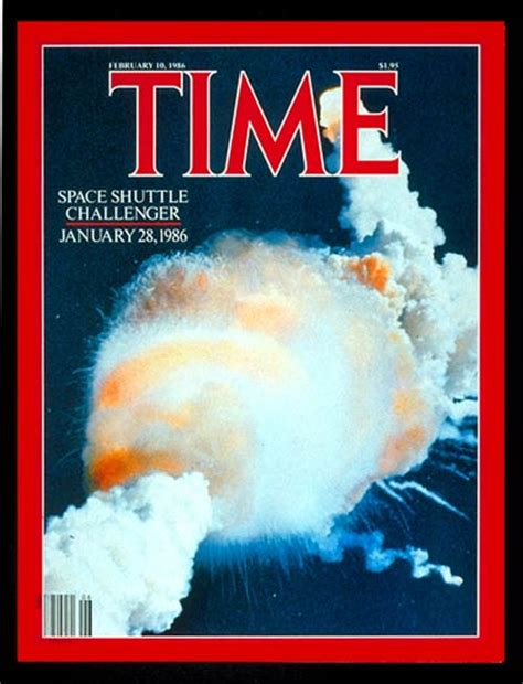 what happened in the challenger disaster time magazine cover challenger explodes feb 10 1986
