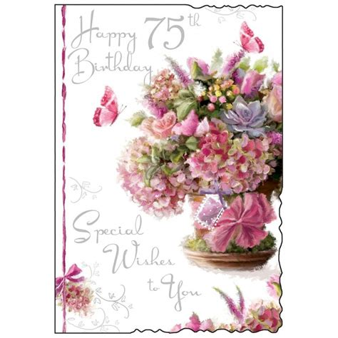 Gift Card Messages - 75th birthday cards quotes wishes messages and images