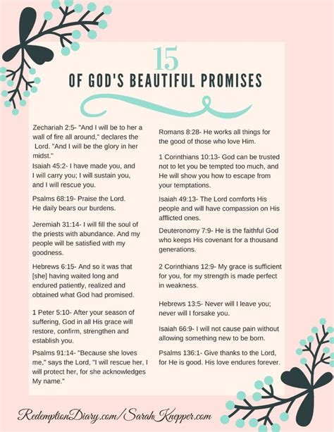 printable list of quotes 25 best ideas about gods promises on pinterest prayer