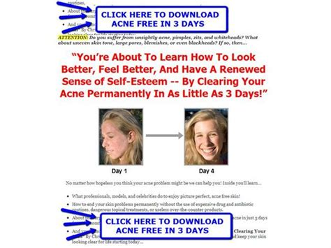 Acne Free In 3 Days Detox by Acne Free In 3 Days Reviews Acne Free In 3 Days Secrets