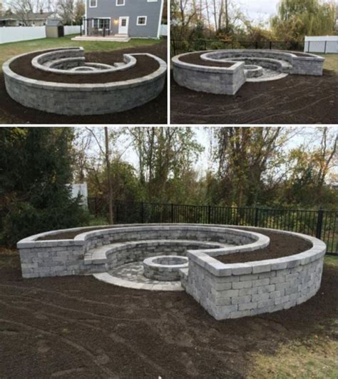 Firepit Seating Stunning Backyard Pit Ideas With Cozy Seating Designs 691 Fres Hoom