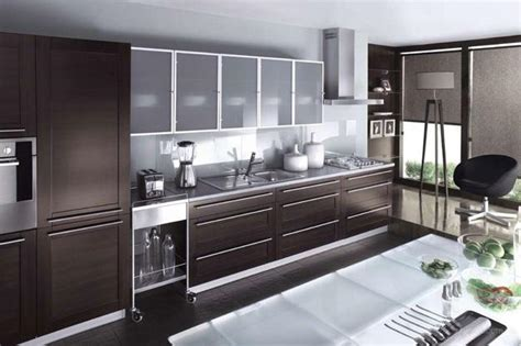 modern glass kitchen cabinets decorating with glass cabinets doors brings light into