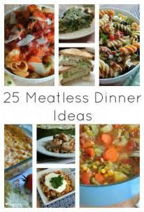 25 meatless family dinner ideas