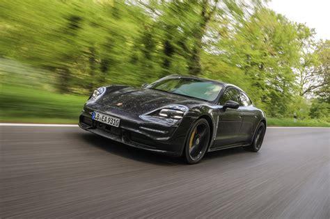 porsche taycan turbo review  redefines speed automobile magazine