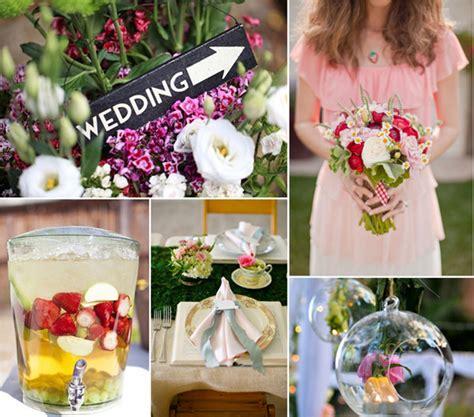 garden wedding diy ideas top 8 trending wedding theme ideas 2014