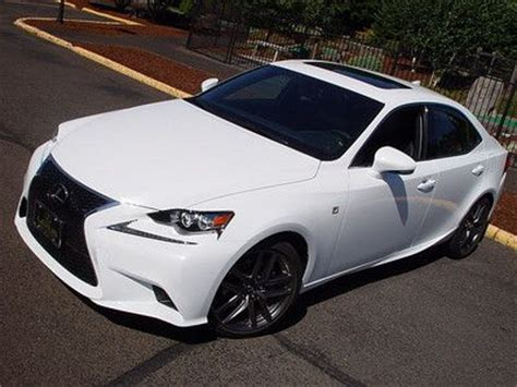 Find 2014 Lexus Is250 Awd F Sport 4 Door Ultra White