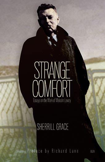 strange comfort strange comfort 187 books 187 talonbooks