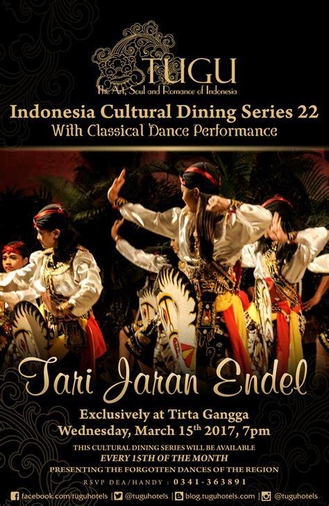 jaran series 1 tari jaran endel indonesia cultural dining series at