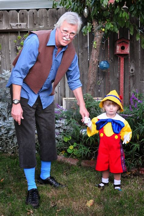 digadig home boo pinocchio  gepetto costumes