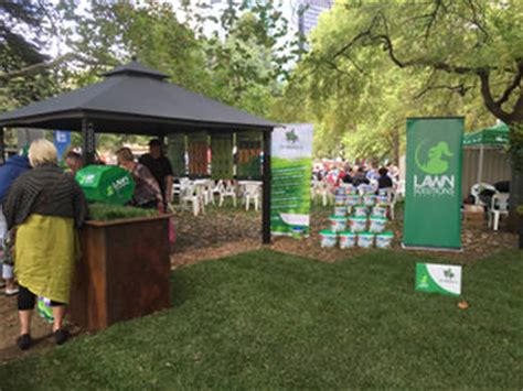 Lucky Garden Melbourne Fl by Lawn Solutions Australia At The Melbourne International