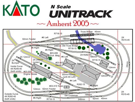 unitrack layout software kato n scale track layouts pictures to pin on pinterest