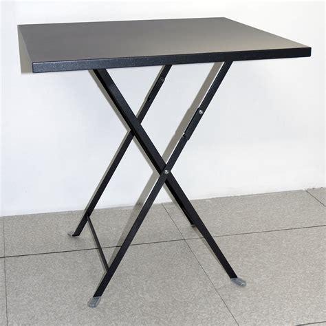 tavolo pieghevole da esterno tavolo pieghevole da giardino in acciaio lario quadrato